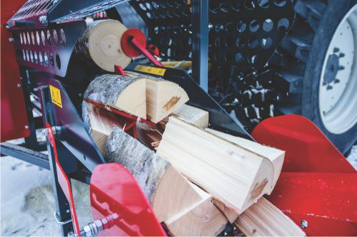 Pilkemaster firewood processors - the fastest way to cut and split logs