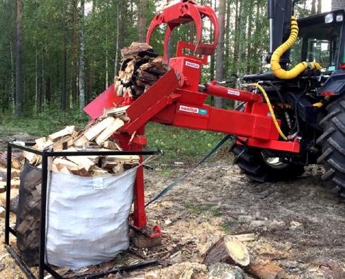 Naarva H60 high-capacity wood splitter